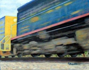 speeding-train
