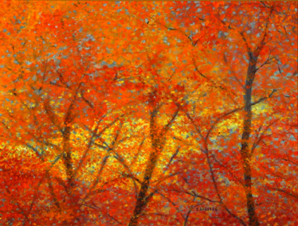 Autumn Leaves Painting Autumn Leaves