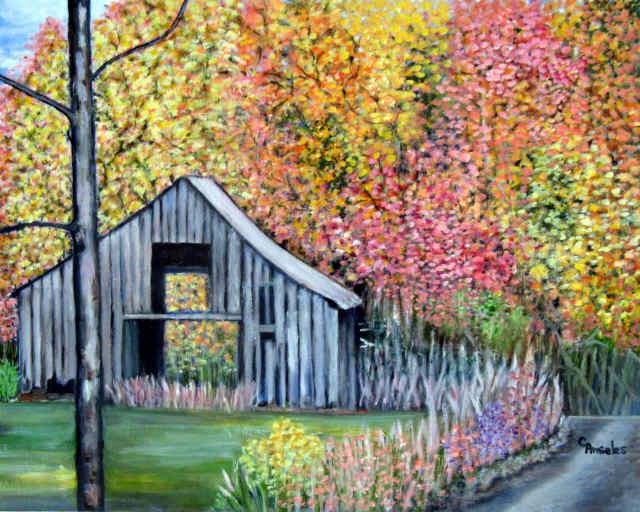 Spring in the Old Barn