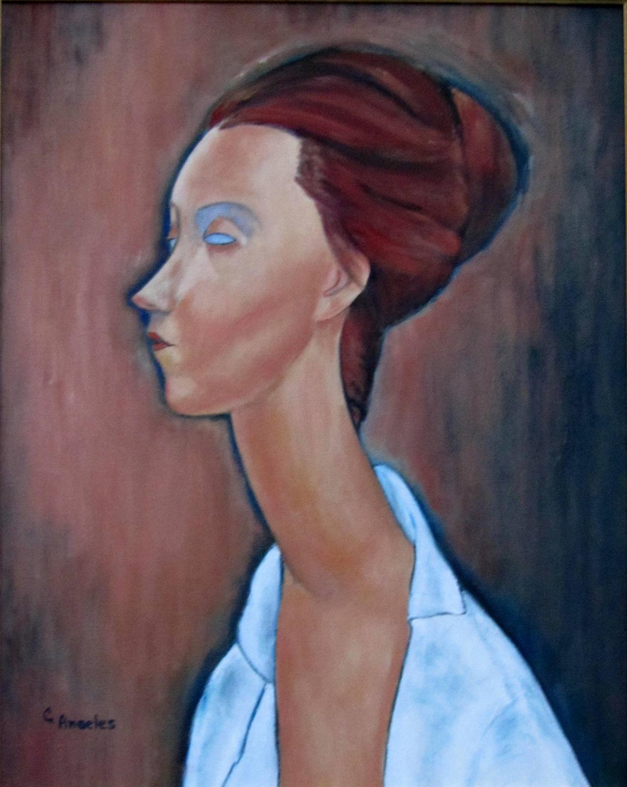Modigliani's Luna Czechowska