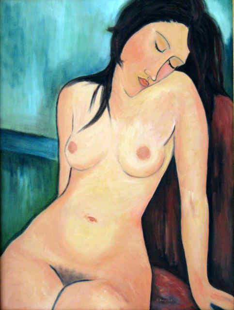 Modigliani's Seated Nude