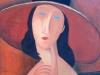 Modigliani's Femme au Chapeau