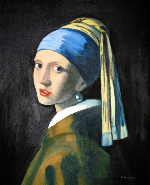 Vermeer's Girl with Pearl Earring