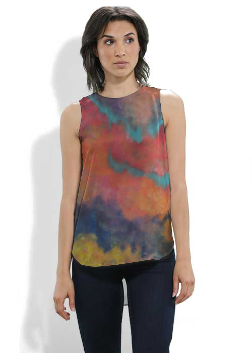 Comfortable Cheap Price Sleeveless Top - Margot by VIDA VIDA Cheap Excellent Eastbay Online Discount Excellent n2PClWQOyP